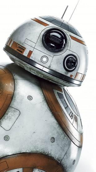 BB-8 Droid Star Wars Movie Android Wallpaper ...