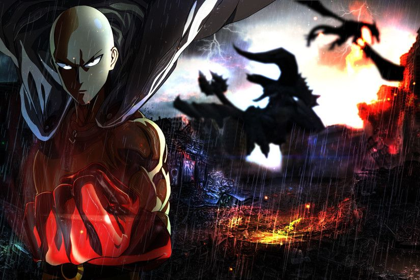 ... Saitama - One Punch Man Wallpaper by ShojiZenshin