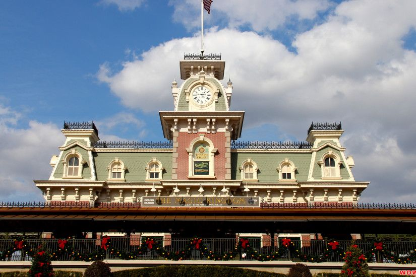 Walt Disney World Railroad Desktop Wallpaper