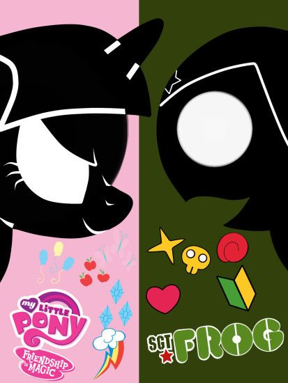 ... My Little Pony: FiM x Sgt. Frog by MyLittleFroggy