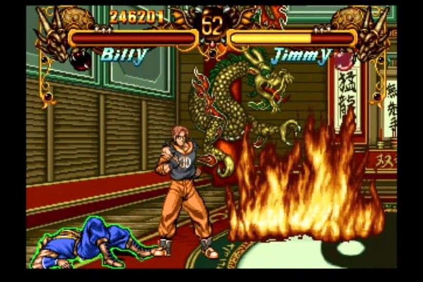 Classic Game Room - DOUBLE DRAGON for Neo-Geo CD review