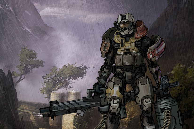 Halo Reach - Emile Wallpaper by Vito-ADP on DeviantArt