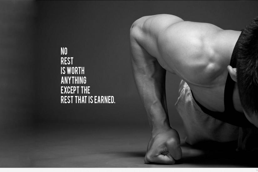 ... Bodybuilding quote HD Wallpaper ...
