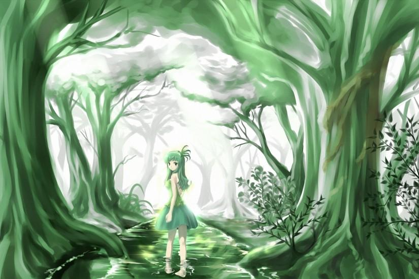 Anime original trees forest artistic cute women girls wallpaper | 1920x1200  | 23841 | WallpaperUP