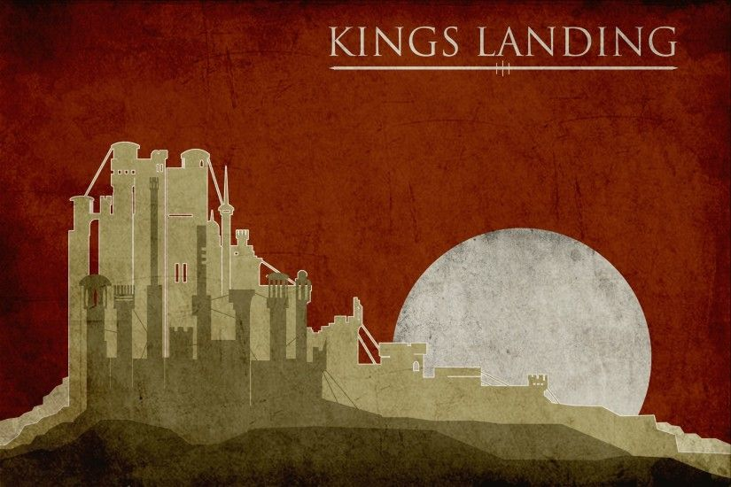 Artwork A Song Of Ice And Fire Game Thrones King39s Landing ...