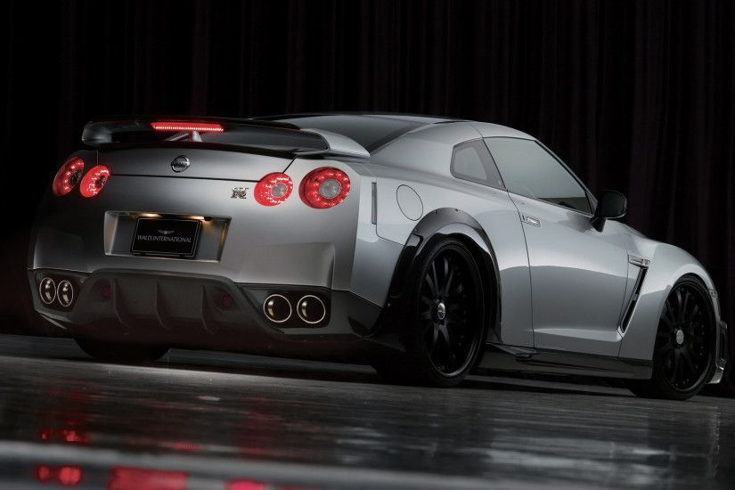 automotivated: Wald Nissan GT-R Rear