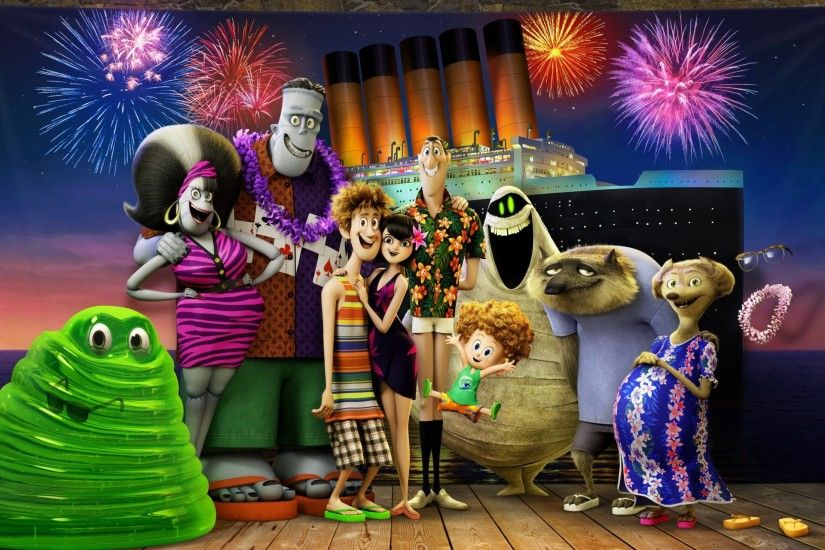 Hotel Transylvania 3 Animation Movie Wallpapers, Images, HD
