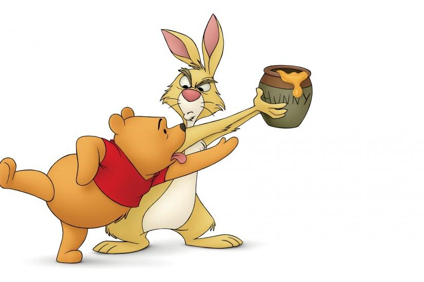 Image - Pooh-Rabbit-Winnie-the-Pooh-Wallpaper.jpg | Disney Wiki | Fandom  powered by Wikia