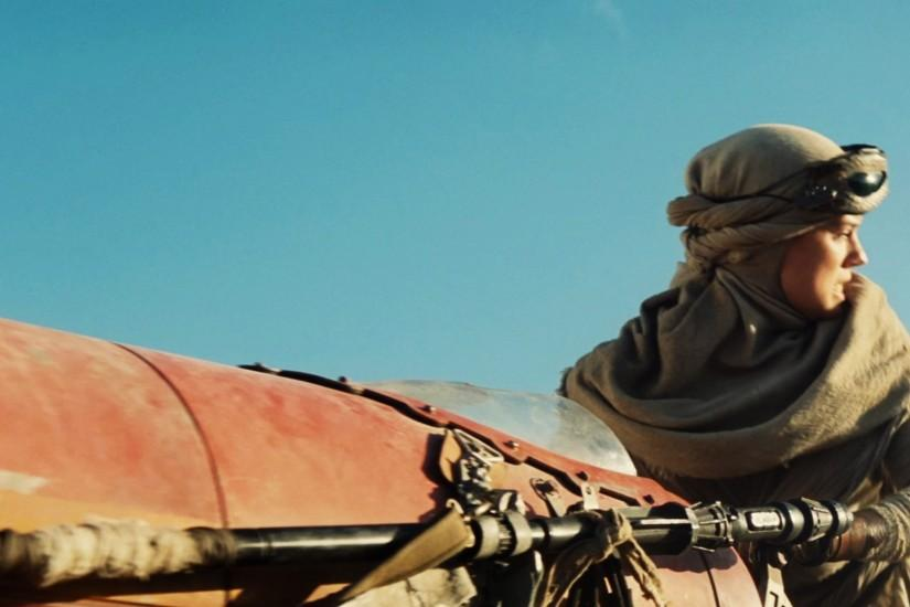 Movie - Star Wars Episode VII: The Force Awakens Daisy Ridley Rey (Star Wars