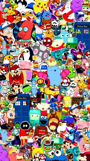 Hd Cartoon Wallpaper Wallpapertag