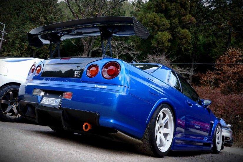 Nissan Skyline R34 wallpapers for android