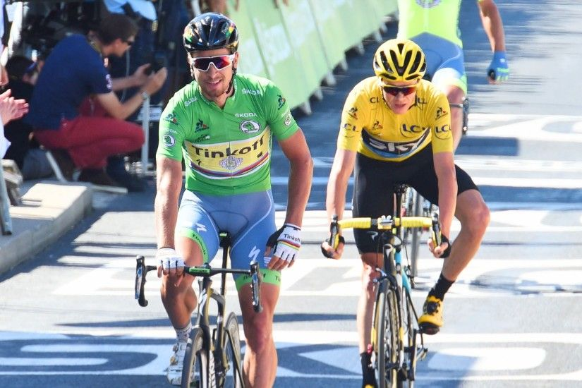 Peter Sagan and Chris Froome ignite windswept stage with late attack