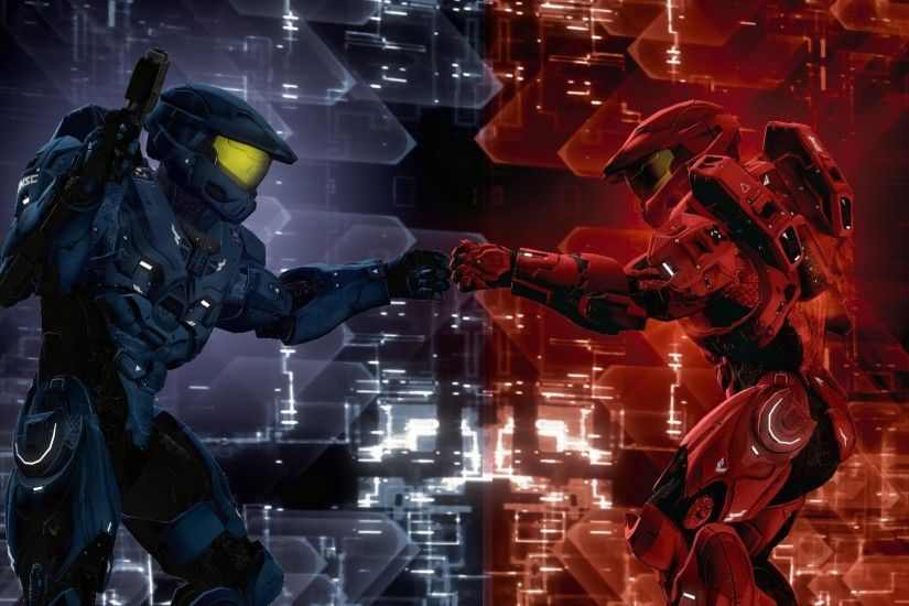 High Resolution Best Game Red vs Blue Wallpaper HD 10 Full Size ... |  Download Wallpaper | Pinterest | Red vs blue, Wallpaper and Comic
