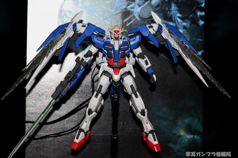 MG 1/100 GN-0000+GNR-010 Gundam 00 Raiser, No