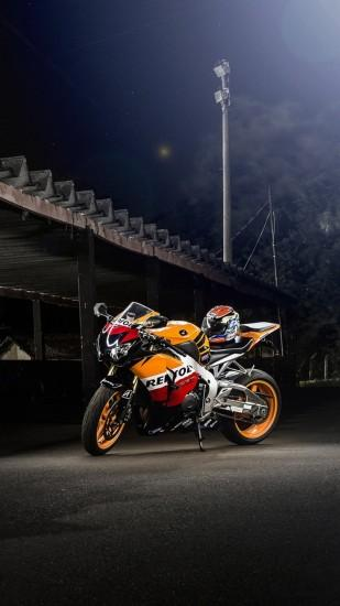 Preview wallpaper honda, cbr1000rr, repsol, motorcycle, bike 1440x2560