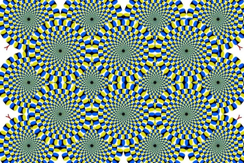 Moving circles cool optical illusion | Widescreen and Full HD .