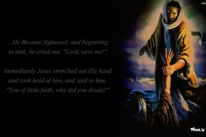 ... Jesus Christ Stretched Out Stranger Hand HD Wallpaper ...