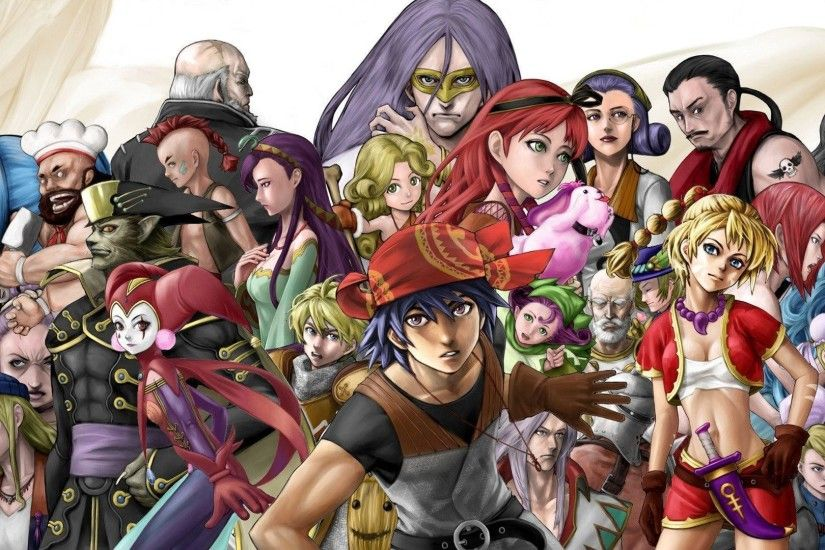 Images For > Chrono Cross Fan Art