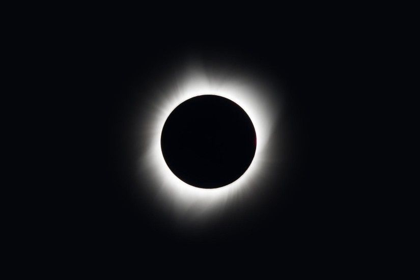 America's 2017 Total Solar Eclipse [1920x1080]; Courtesy of NASA, edited  for resolution