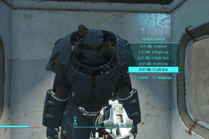 How to Find a Full X-01 Power Armor Suit