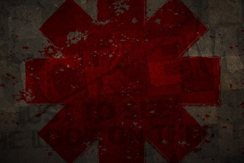 2560x1080 Wallpaper red hot chili peppers, symbol, graphics, spray,  background