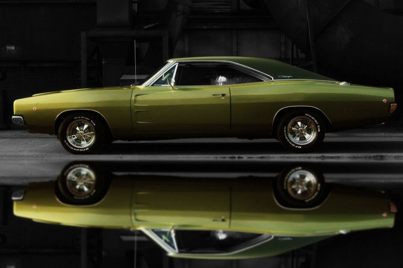 HD 1968 Dodge Charger Wallpaper | Download Free - 125619