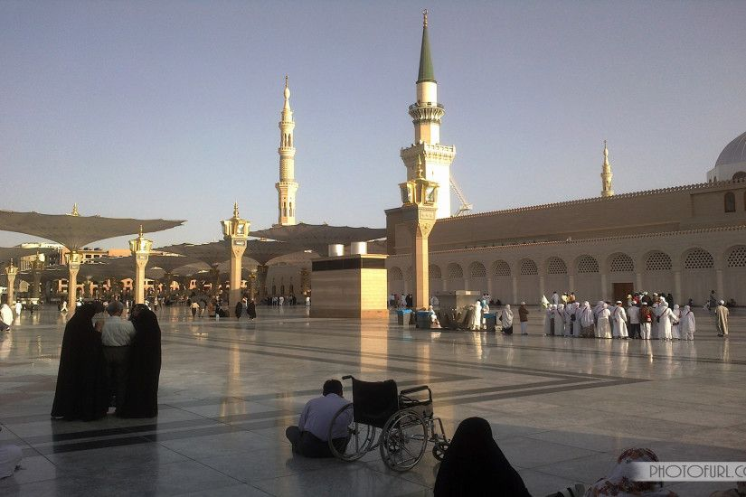 Muslim Praying The Madina Hall