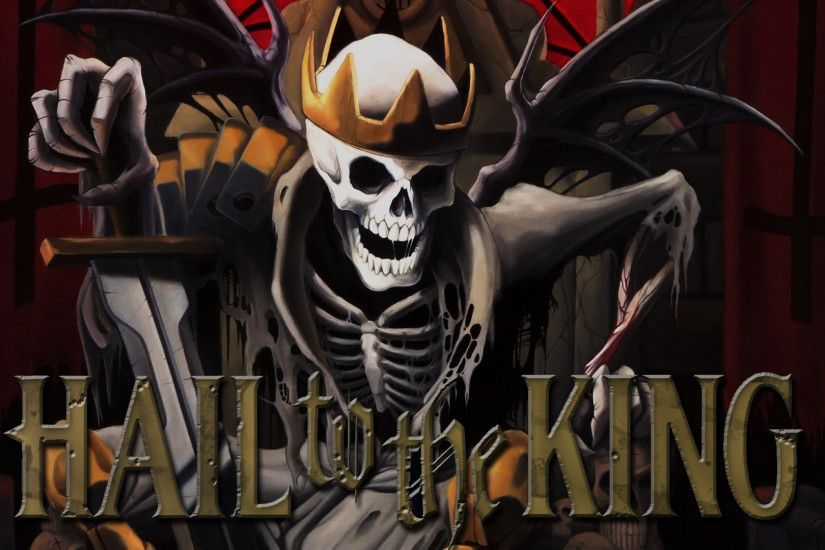 Hail to the King: Deathbat A7X Wallpaper HD Wallpaper with 1920x1080 .