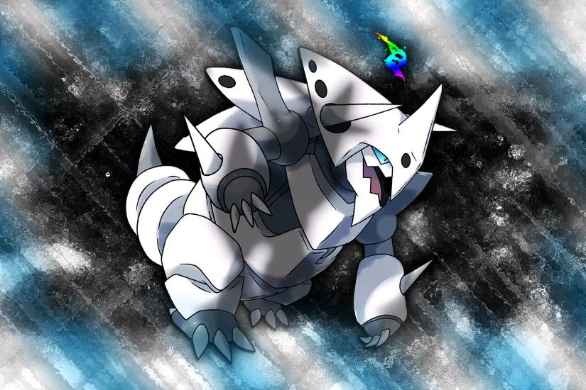 Mega Aggron Wallpaper by Glench