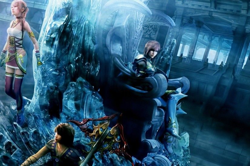 FFXIII Group on Nautilus HD desktop wallpaper High Definition 1920×1080