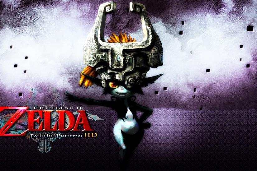 ... Zelda: Twilight Princess HD - Midna Wallpaper by DaKidGaming
