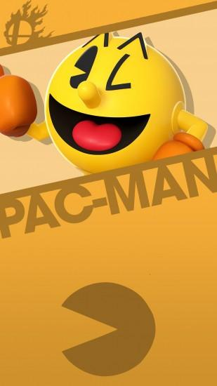 Phone Wallpaper by MrThatKidAlex24 Pac-Man Smash bros. Phone Wallpaper by  MrThatKidAlex24