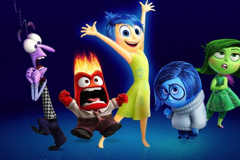 Movie - Inside Out Fear (Inside Out) Joy (Inside Out) Disgust (