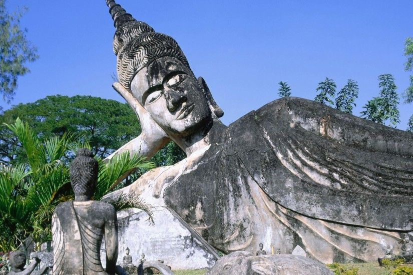 Buddha asia laos wallpaper
