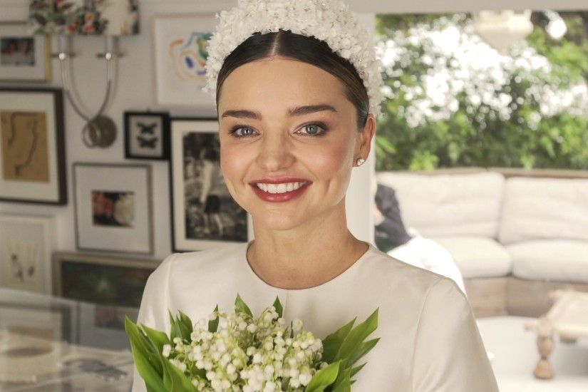 An Exclusive Video Look at Miranda Kerr's Wedding Dress Fitting - Vogue