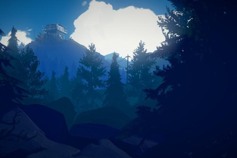 firewatch wallpaper 1920x1080 hd 1080p