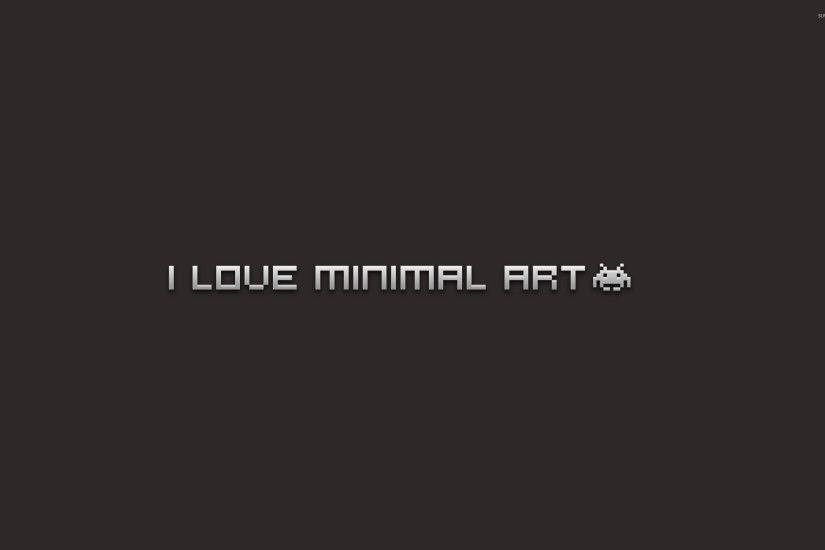 I love minimal art wallpaper 2560x1600 jpg