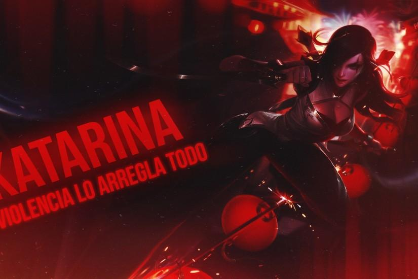 ... Katarina ~ Wallpaper 2 ~ League of legend by PatoSwag