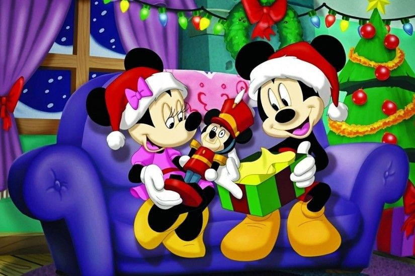 Mickey Mouse And Minnie Christmas 759076 ...