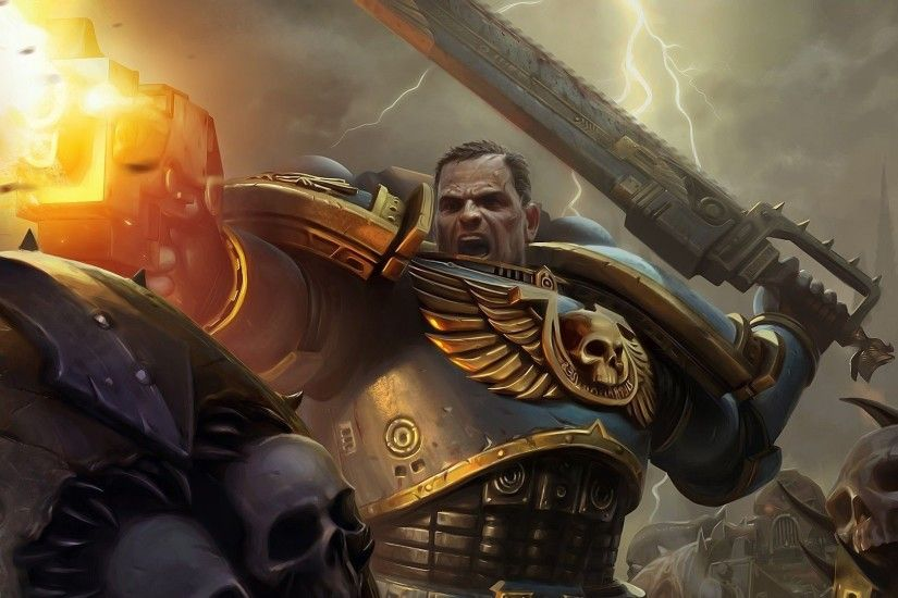 Warhammer 40,000 - Space Marines [5] wallpaper