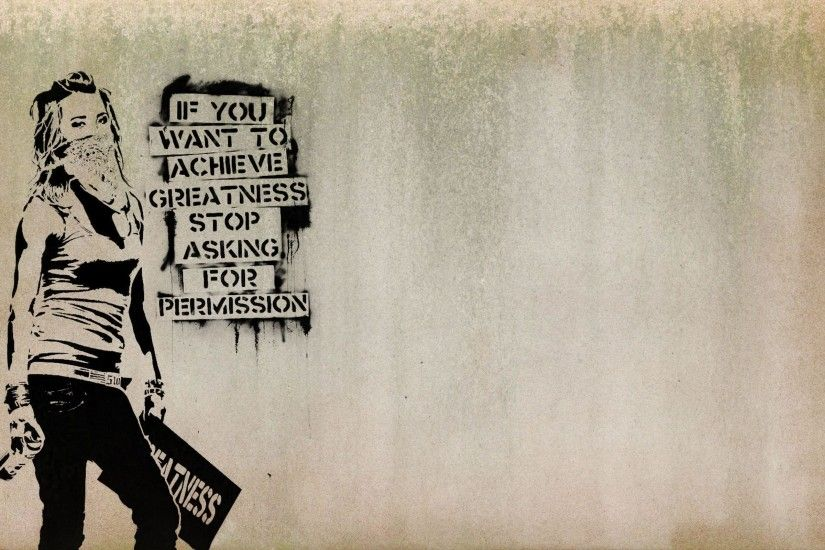 Banksy Wallpaper Wallpapers Hd 1 Pics | Wallpaperiz.