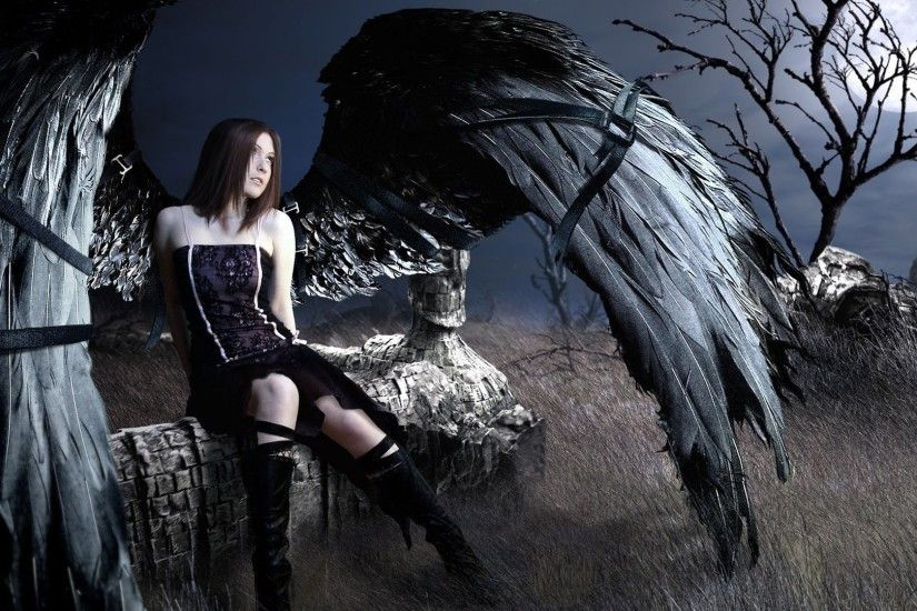 Dark Gothic Photography Wallpaper