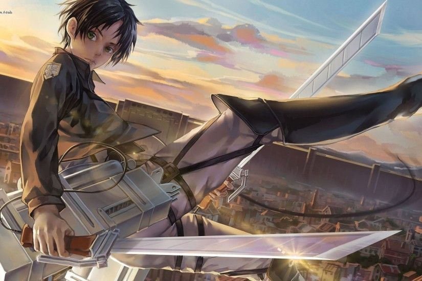 cute Attack On Titan Eren Yeager full HD image