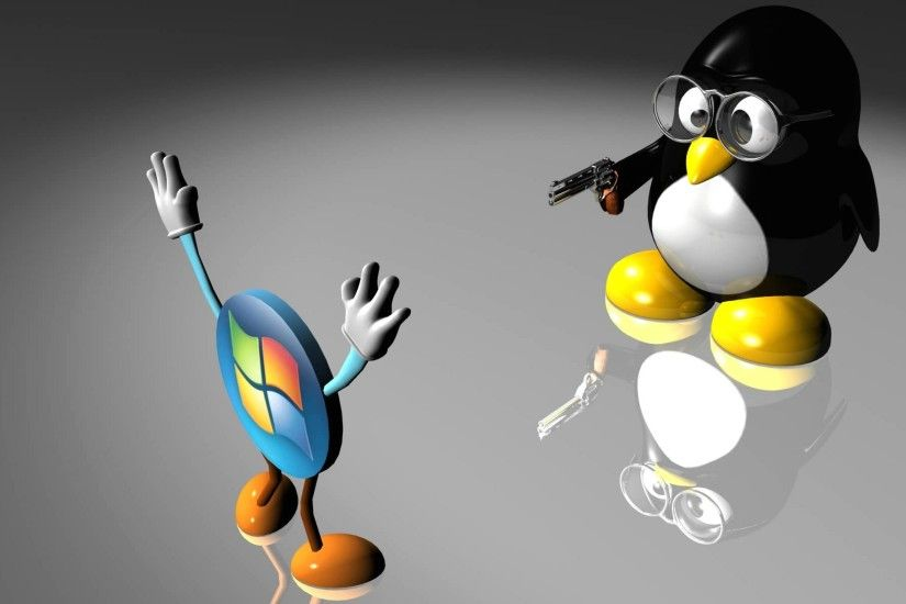 Wallpaper linux vs windows
