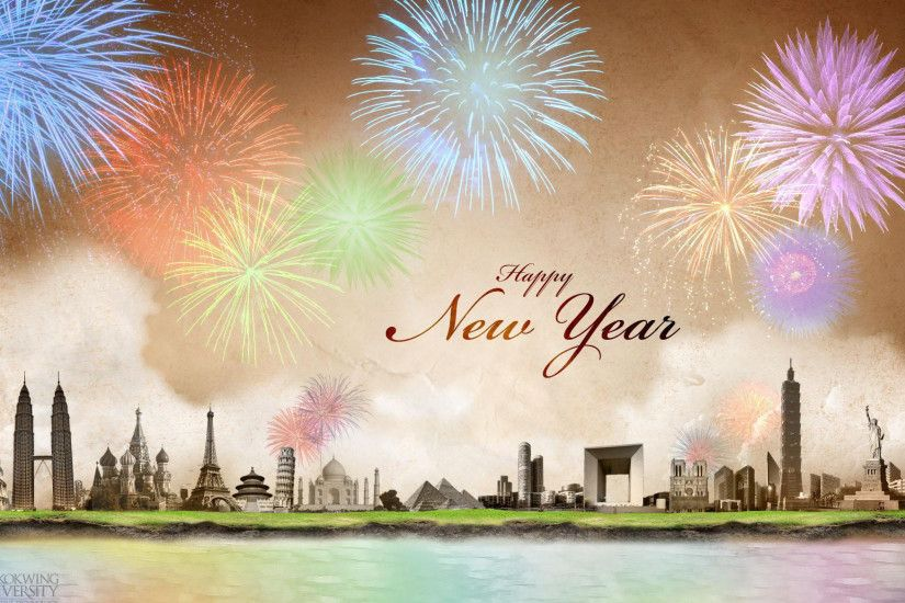 Happy New Year Backgrounds Free Download.
