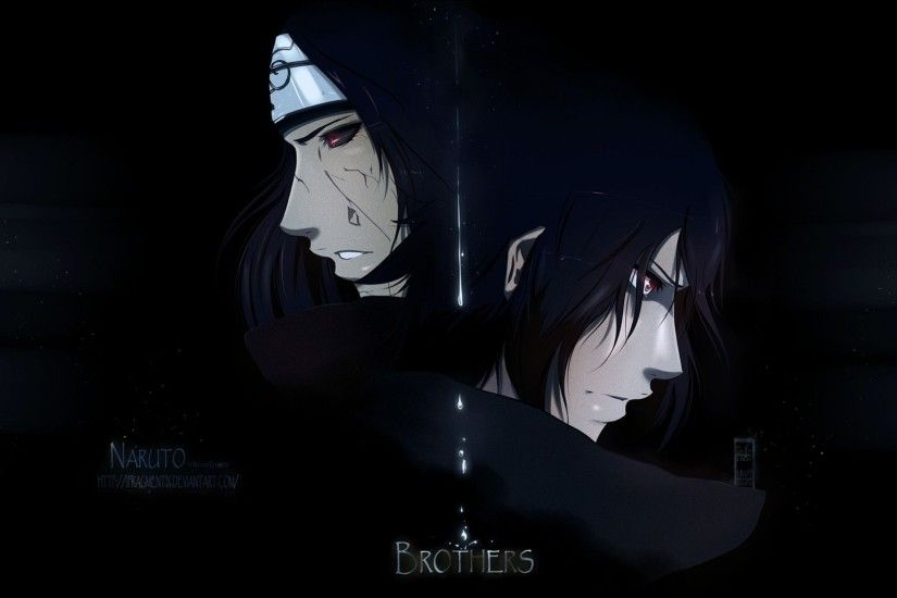 Wallpapers For > Itachi And Sasuke Wallpaper Hd