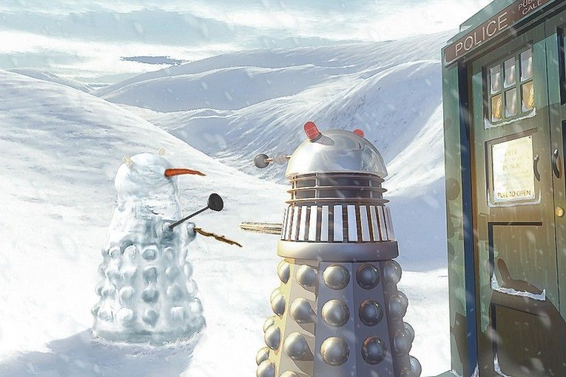 doctor who christmas wallpaper | ... doctor who 1024x768 wallpaper Wallpaper  –Free Wallpapers