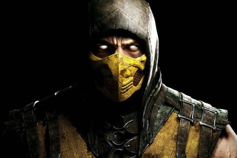 Scorpion In Mortal Kombat (2048x1152 Resolution)