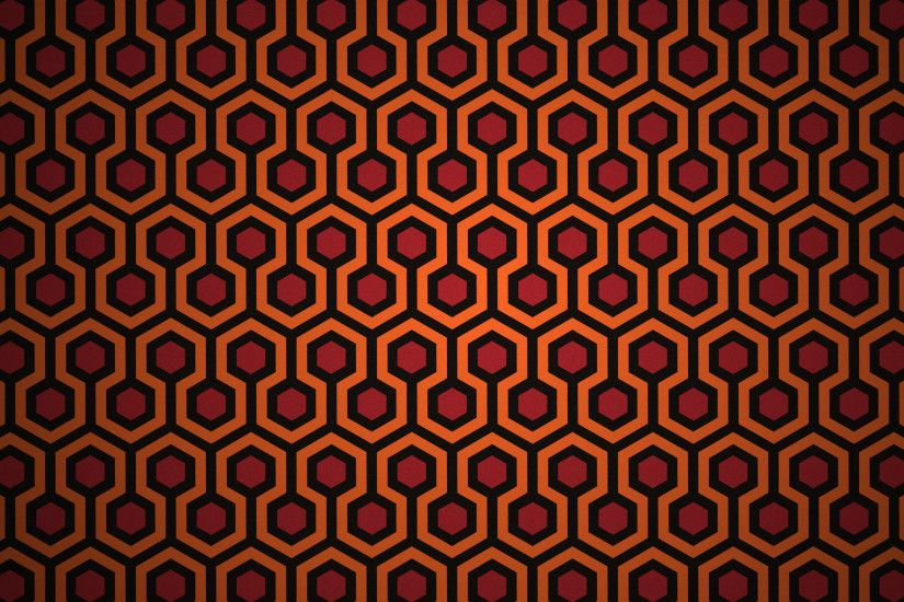 Wallpaper based on the carpet from the Shining (not created by me, but a  really awesome idea I thought you'd all appreciate) ...
