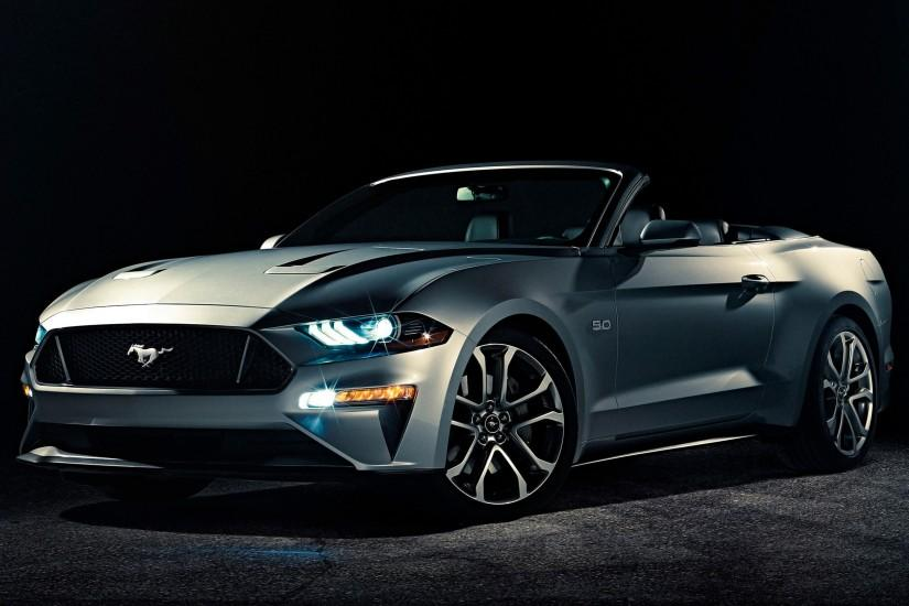 2018 Ford Mustang Convertible 4K